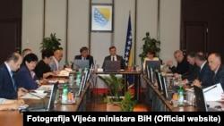 Sjednica Vijeća ministara BiH, Sarajevo, 23. avgust 2016.