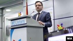 Вицепремиерот за евроинтеграции Фатмир Бесими.