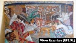 Фальшивый экземпляр картины «В ресторане», проданный коллекционеру Андрею Васильеву