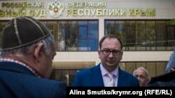 Адвокат Ахтема Чийгоза Микола Полозов