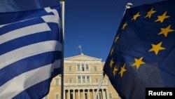 Під будівлею парламенту Греції, архівне фото