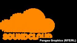 """SoundCloud"" сайтынын логосу."