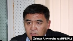 """""""Ата Жұрт"""" партиясының депутаты Камчыбек Ташиев."""