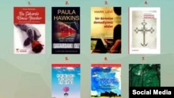 "Bestseller books of june 2016 in Azerbaijan, Book house ""Ali and Nino"""
