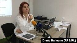 """Ana Revenco, directorarea executivă a organizației """"La Strada"""" (foto arhivă, 2018)"""