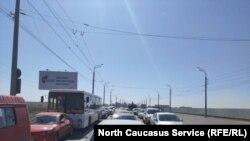 Выезд из Каспийск
