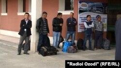 Муҳоҷирони тоҷик. Акс аз бойгонӣ.