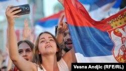 Navijači reprezentacije Srbije, ilustrativna fotografija