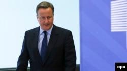 Britan premýer-ministri Deýwid Kameron (David Cameron).