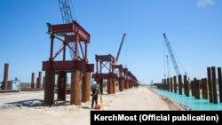 Будаўніцтва Керчанскага моста