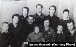 Сям'я Ждановічаў (бяз двух дзяцей), Барысаў, 1957 год
