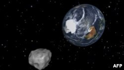 Жерге жакын өткөн 2012DA14 астероиди.