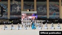 Праздничная программа по поводу открытия Олимпийского центра в Астаре, 13 марта 2012