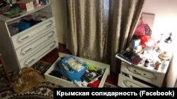 Дом крымчанина Сейтумера Сейтумерова после обыска