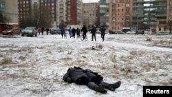 Жертва обстрела Краматорска 10 февраля