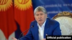Алмазбек Атамбаев на пресс-конференции, 24 июля 2017 г.