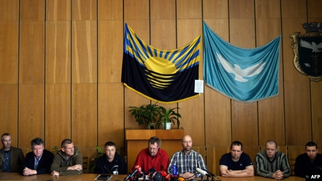 The OSCE observers had been held by pro-Russia separatists near the flashpoint city of Slovyansk since April 25.