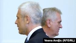 Tomislav Nikolić i Boris Tadić