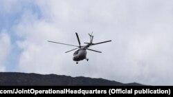 Українські льотчики допомагали дістатися до вулкану науковцям