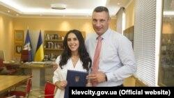 Джамала і Віталій Кличко