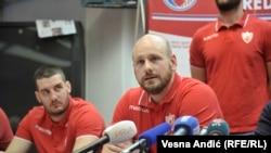 Dušan Vasić, jedan od vaterpolista Crvene zvezde koje je grupa huligana napala u Splitu