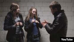 Кадр із фільму «Плем'я» Слабошпицького