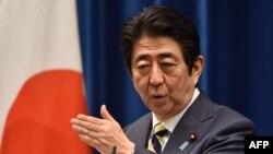 Япония Бош вазири Шинзо Абе