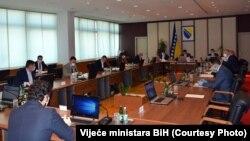 Sjednica Savjeta ministara BiH, Sarajevo, 16. april