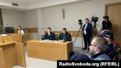 Краков, зал судебного заседания по делу о поджоге в Ужгороде, 14 января 2019