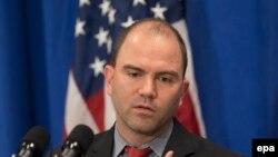 Бен Родс, заступник радника з питань національної безпеки президента США