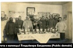 Сьвяточны стол германцаў у Міле на Мядзельшчыне