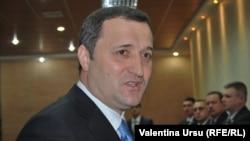 Vlad Filat, după negocierile cu Evgheni Şevciuk la Tiraspol, 30 martie 2012