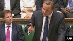 Londër - Kryeministri britanik David Cameron gjatë diskutimit në parlament, 11 dhjetor, 2013