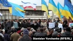 За Украину: история крымского Евромайдана