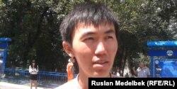 Айдос Абдибек, участник комплексного тестирования. Алматы, 19 июля 2013 года.