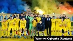 Збірна України на стадіоні «Металіст» у Харкові, 11 жовтня 2019 року