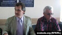 Анатоль Лябедзька ды Станіслаў Багданкевіч