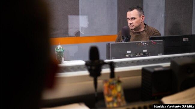Олег Сенцов в ефірі Радіо Крим.Реалії