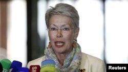 Դեսպան Հեյդի Տալյավինի, հունիս, 2015թ.
