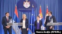Dodik, Cvijanović, Brnabić i Vučić