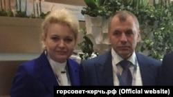 Лариса Щербула і Володимир Константинов