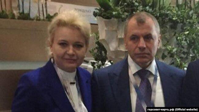 Лариса Щербула и Владимир Константинов