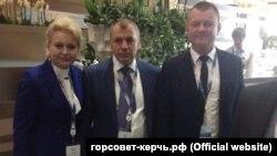 Лариса Щербула й Володимир Константинов