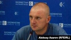 Сергей Соляник, Алматы тұрғыны.