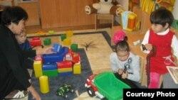 Занятия в одном из детских центров.