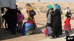 Втікачі з Фаллуджі, фото 6 січня 2014 року