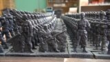 Russian-Made Toy Soldiers Join Battle For Hearts And Minds