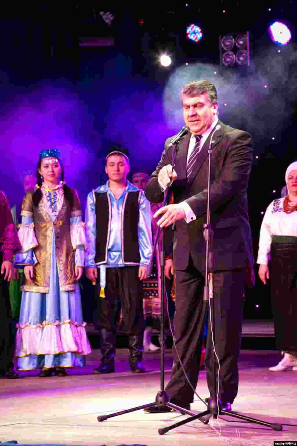 Хабаровски крае мәдәният министры Александр Федосов