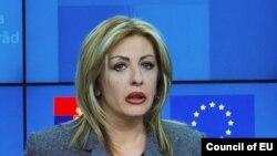 Jadranka Joksimović, ministrica za evropske integracije Srbije