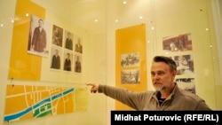 Mirsad Avdić u Muzeju